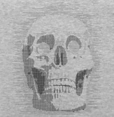 T-shirts Ascii Totenkopf personnalisés