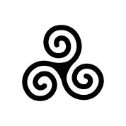 Keltische Triskele Designs Keltische Triskele und peronal...