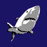 Ozean Designs Ozean, Fische und Haie persona...
