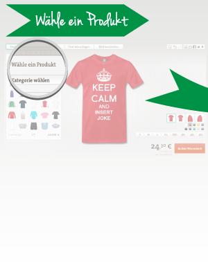 Wähle dein T-Shirt aus