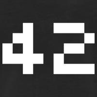Accessoires und T-Shirts 42 Pixels H2G2 gestalten