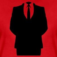 Accessoires und T-Shirts Anonymous Anzug durchsichtig gestalten