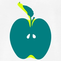 Accessoires und T-Shirts Apfel gestalten