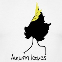 T-shirts Autumn leaves Wortspiel personnalisés
