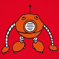 Accessoires und T-Shirts Ball Roboter 3 Farben gestalten