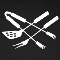 Accessoires und T-Shirts Barbecue Bratrost Grille gestalten