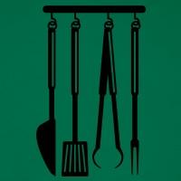 Accessoires und T-Shirts Barbecue Grill gestalten