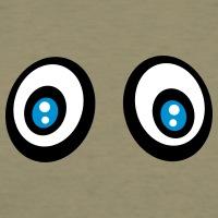 Accessoires und T-Shirts Blaue Augen Smiley gestalten