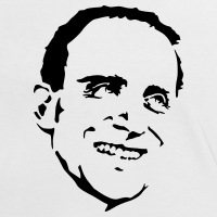 Accessoires und T-Shirts Boris Vian Porträt gestalten