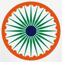 Accessoires und T-Shirts Chakra Ashoka Indien gestalten