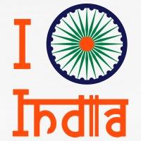 Accessoires und T-Shirts Chakra I love India gestalten