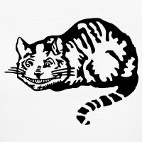 Accessoires und T-Shirts Cheshire cat Wonderland gestalten