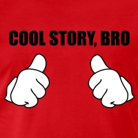 T-shirts Cool story bro Mickey Handschuhe personnalisés