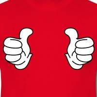 Accessoires und T-Shirts Cool story Daumen gestalten