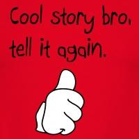 T-shirts Cool Story Daumen handschriftlich personnalisés
