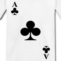 Accessoires und T-Shirts Diagonal Kreuz As gestalten