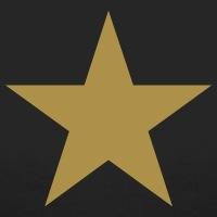 Accessoires und T-Shirts Einfacher Stern gestalten