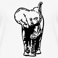 T-shirts Elefantenjunge personnalisés