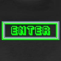 Accessoires und T-Shirts Enter Pixels Taste gestalten