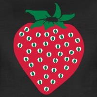 Accessoires und T-Shirts Erdbeere 3 Farben gestalten