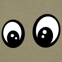 T-shirts Fragende Augen Smiley personnalisés