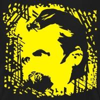 T-shirts Friedrich Nietzsche Porträt personnalisés
