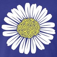 Accessoires und T-Shirts Gänseblümchen gestalten