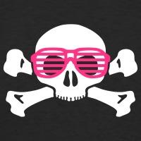 Accessoires und T-Shirts Geek Nerd Totenkopf gestalten