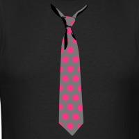 T-shirts Gepunktete Krawatte personnalisés