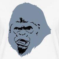 Accessoires und T-Shirts Gorilla Kopf gestalten