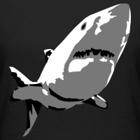 T-shirts Hai 3 Farben personnalisés