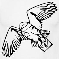 Accessoires und T-Shirts Hedwig weisse Eule gestalten