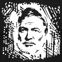 Accessoires und T-Shirts Hemingway Porträt gestalten