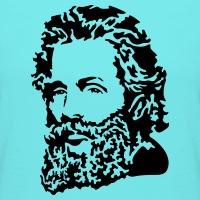 Accessoires und T-Shirts Herman Melville Porträt gestalten