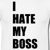 Accessoires und T-Shirts I hate my boss Büro gestalten