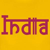 Accessoires und T-Shirts India Devanagari Typografie gestalten