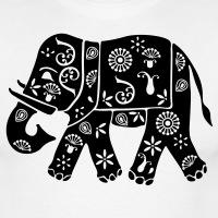 Accessoires und T-Shirts Indien Elefant Motiv gestalten