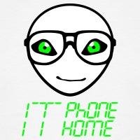 Accessoires und T-Shirts IT phone home Witz gestalten