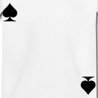 Accessoires und T-Shirts Kartenspiel Pik gestalten
