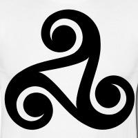T-shirts Keltische Triskele 10 personnalisés