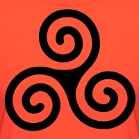 T-shirts Keltische Triskele einfach personnalisés