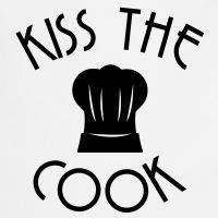 Accessoires und T-Shirts Kiss the cook Kochmütze gestalten