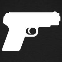 Accessoires und T-Shirts Knarre Waffe gestalten