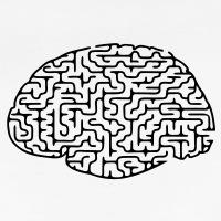 Accessoires und T-Shirts Unregelmäßig Labyrinth Gehirn gestalten