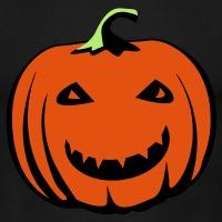 T-shirts Lächelnder Kürbis Halloween personnalisés