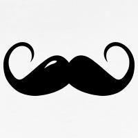 Accessoires und T-Shirts Lange Mode Schnurrbart gestalten