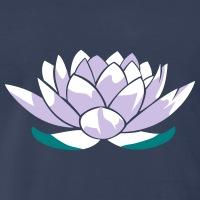 Accessoires und T-Shirts Lotus Blume gestalten