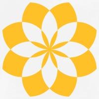 Accessoires und T-Shirts Lotusblüte Geometrisches Design gestalten