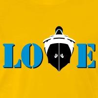 Accessoires und T-Shirts Love boat Passagierschiff gestalten