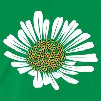Accessoires und T-Shirts Unregelmäßige Margerite gestalten